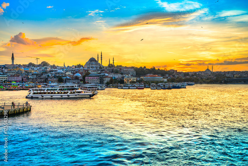 Leinwand Poster Istanbul, Turkey.