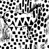 Zebra camouflage abstract seamless pattern