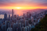 Hong-Kong sunrise