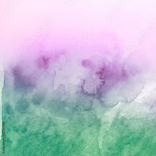 Watercolor blot - 125585014