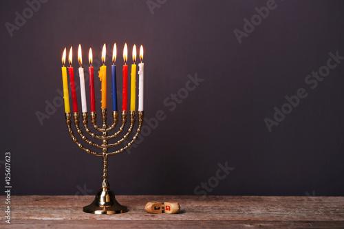 Plakát Hanukkah