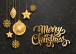 Detaily fotografie Festive Christmas Greeting Card