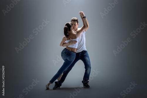 Naklejka Kurs tańca
