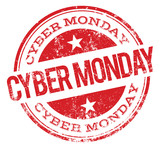 Cyber Monday stamp
