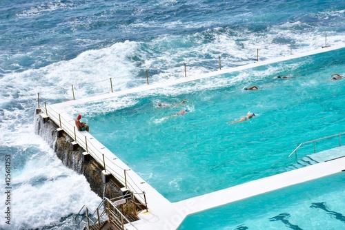 Fotobehang Sydney Bondi Icebergs