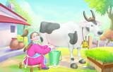 The dreamy milk maid story (2+3)