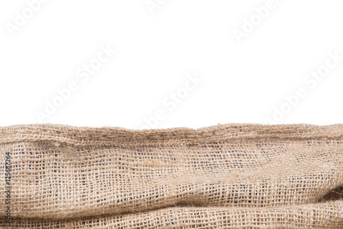 burlap texture border