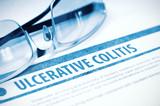 Ulcerative Colitis. Medicine. 3D Illustration.