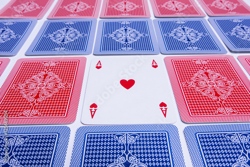 Poster playing card