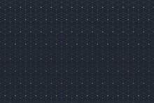 Geometryczne szwu z podłączonej linii i kropek. Graphic łączność tła. Nowoczesny, stylowy wielokątne tło dla swojego projektu. ilustracji wektorowych.