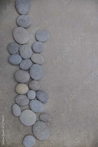 Poster Spa zen like concepts.-set of pile of stones