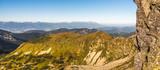 Mountain Landscape. High Tatras Mountains as Seen from Low Tatras, Slovakia.