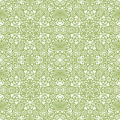 Seamless background with abstract ethnic pattern.