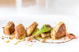 Foie gras, grilled - 125858029