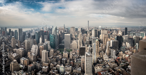 Poster NYC from the Empire State