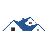 house real estate residential building logo - 125878626