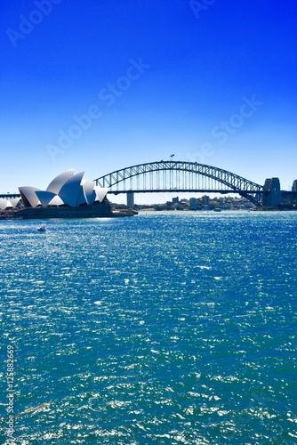 Vertical Sydney Harbor Poster
