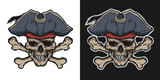 Pirate Skull And Crossbones Wall Sticker