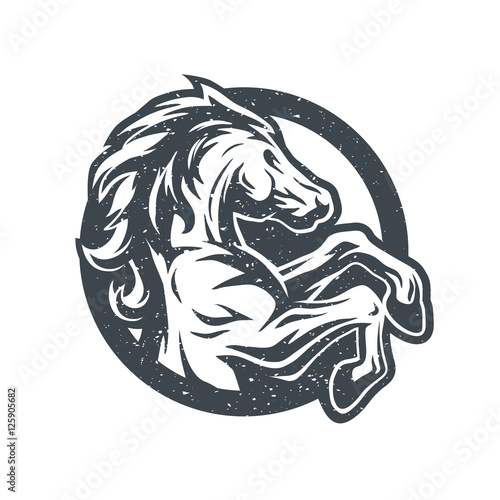 Wild Horse Logo Symbol Buy Photos Ap Images Detailview