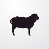 sheep icon illustration - 125930838