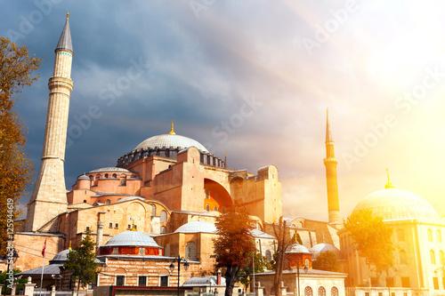 Poster Hagia Sophia in Istanbul