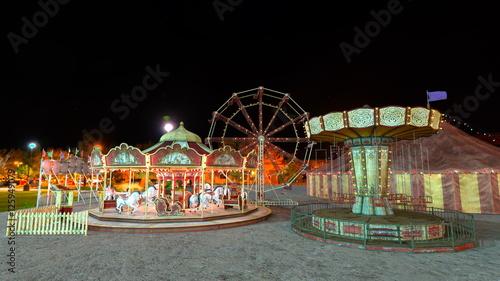 Keuken foto achterwand Amusementspark カーニバル