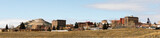 Fototapeta Downtown City Skyline Houses Walkerville Butte Montana USA