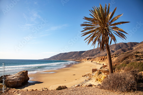 Poster Marokko Plages vers Taghazout - Maroc