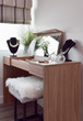 Gorgeous lady dressing table