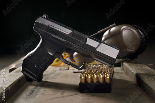 Glock, krótka broń.