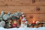 Romantische Weihnachtsdekoration - 125986033
