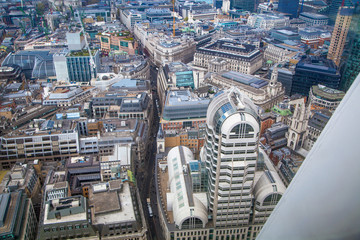 City of London view include Business part of London with Bank street