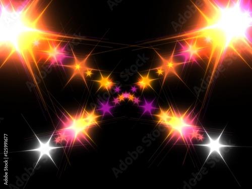 Poster Stars background