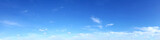 Fototapeta Na sufit - Panoramic sky on a sunny day. © tanarch
