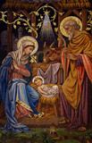 The Nativity (mosaic) - 126002422