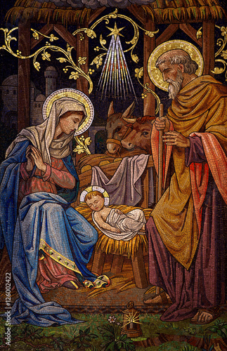 The Nativity (mosaic)