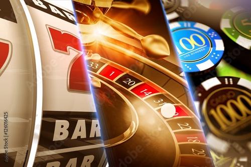 Lucky Casino Games плакат