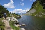 Wandern am Spiegelsee / Steiermark