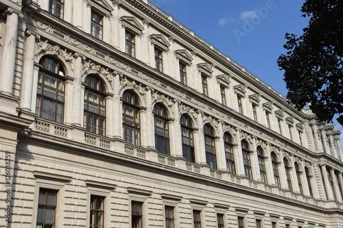 In de dag Wenen Wien, Universität, Ringstraße, Studieren, Uni, Hochschule, älteste Universität im deutschen Sprachraum, Mittelalter