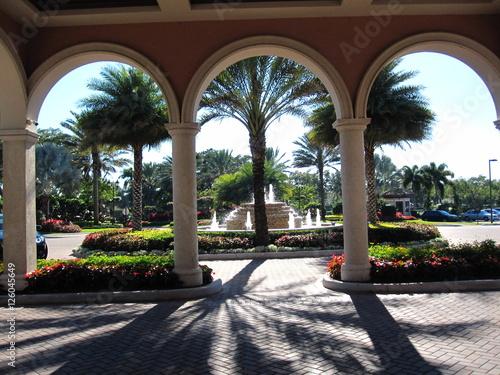 Zdjęcia Loggia in a tropical setting