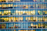 People working at office building in London - 126050624