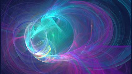Fraktal abstrakt wallpaper Hintergrund Farben rainbow