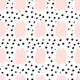 Hand Drawn Abstract Seamless Pattern - 126073844