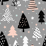 Seamless Christmas Pattern - 126078600