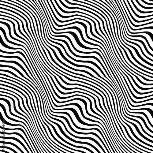 abstrakcjonistyczny-geometryczny-czarny-i-bialy-graficznego-projekta-druk-wyplata-wzor