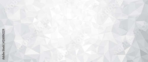 Vector abstract gray, triangles background. - 126086229