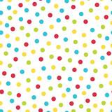 Colorful dots seamless pattern