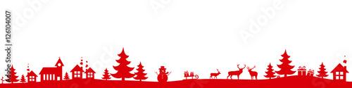 Christmas landscape - 126104007