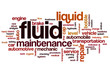 Fluid word cloud