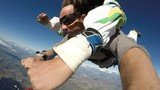 Sky diving tandem funny